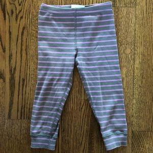 Hanna Gray striped leggings